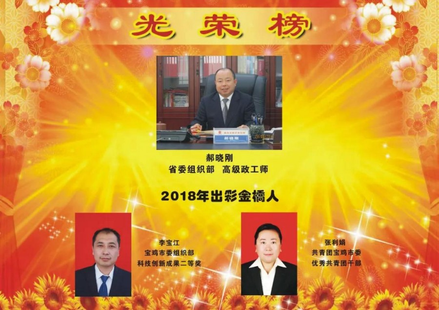 2018年度光荣榜